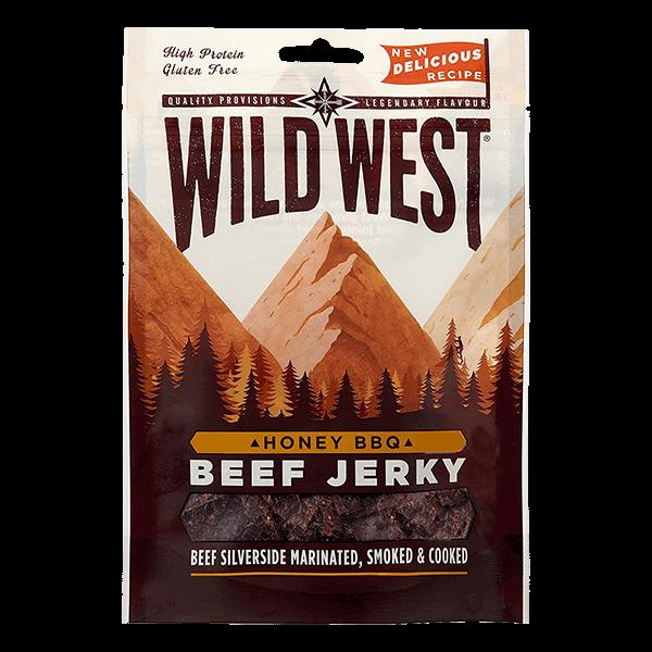 Wild West Beef Jerky Honey & BBQ kaufen