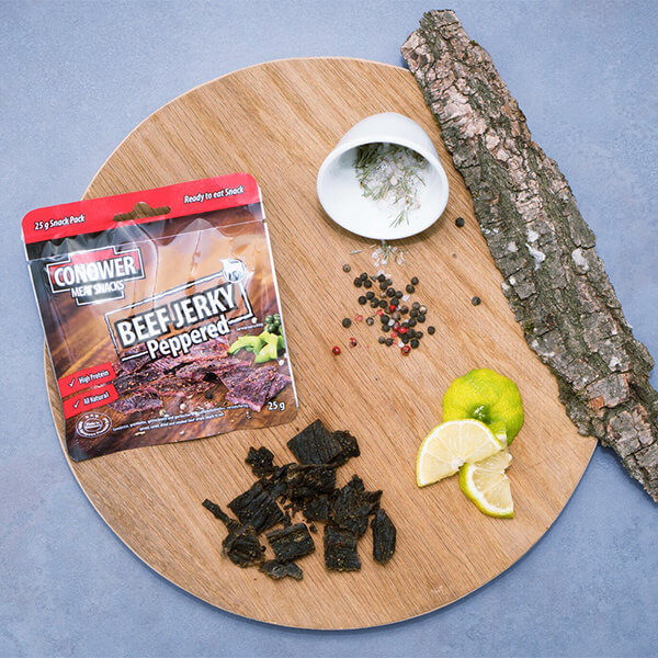 Conower Beef Jerky Peppered