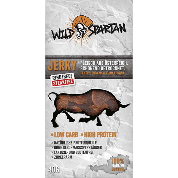 Wild Spartan Beef Jerky Steakfire