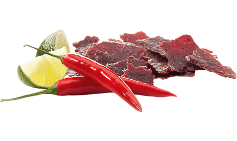 Wild West Deli Beef Jerky Chilli & Lime offen