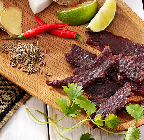 Wild West Deli Thai Spice Beef Jerky