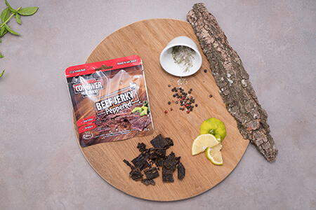 Conower Meat Snacks Peppered