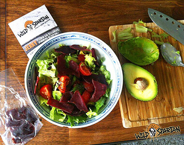 Wild Spartan Beef Jerky Salat