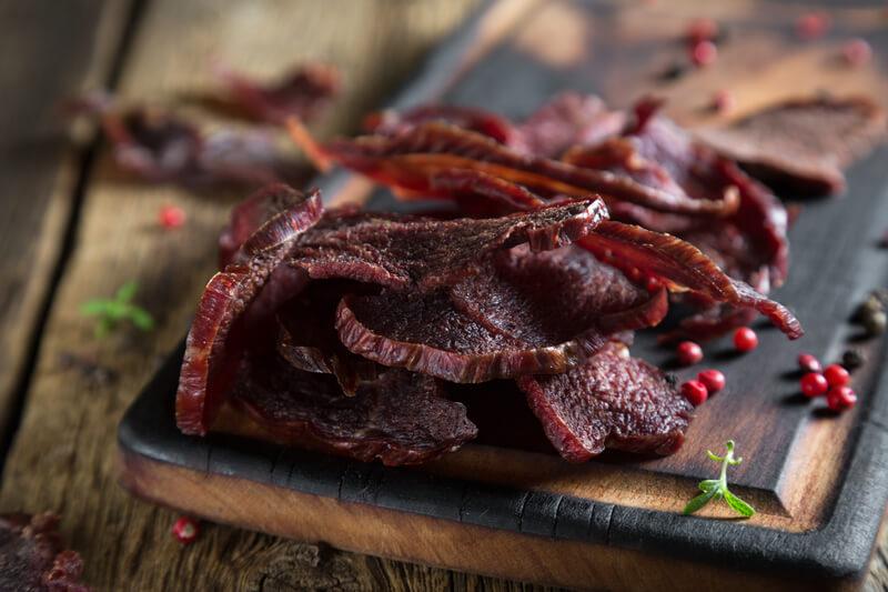 Was ist Trockenfleisch/Dörrfleisch/Jerky