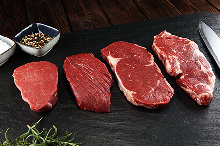 Das richtige Fleisch finden